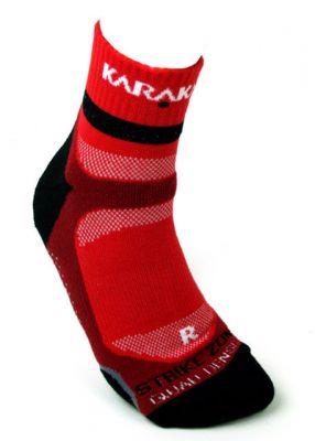 Karakal X4 Ankle Technical Sport Socks Czerwone