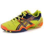 Asics GEL-BLAST 5 0550 2014 Green/Navy/Orange