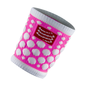 Compressport Sweat Band Fluo Pink