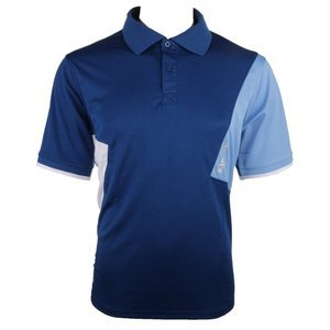 Karakal Dijon Button Polo Navy/White/Blue