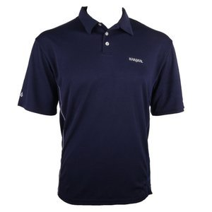 Karakal Leon Button Polo Navy