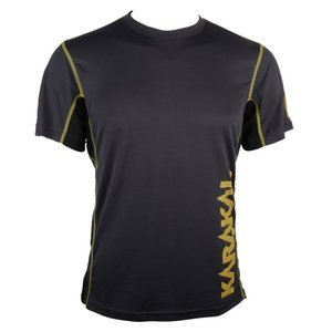 Karakal Pro Tour T-shirt Graphite/Yellow