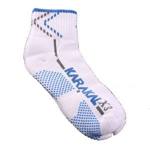 Karakal X3 Ankle Technical Socks White/Blue