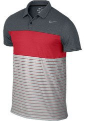 NIKE Dri-Fit Touch Stripe Polo 598146-010