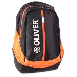 Oliver Black-Orange Backpack