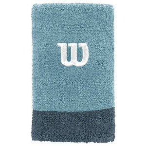 Wilson Extra Wide Wristband Blue 2 pcs