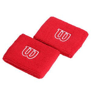 Wristband Wilson Red 2 pcs