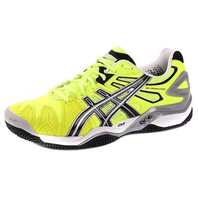 Asics GEL-RESOLUTION 5 CLAY 0490 Lime/Black/Silver