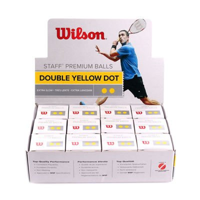 Piłka Wilson Staff  Double Yellow Dot