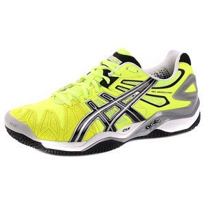 Asics GEL-RESOLUTION 5 CLAY 0490 Lime/Schwarz/Silber