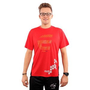 Karakal Pro Cool-Tec T-Shirt Red 2015 LTD