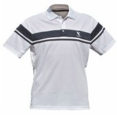 SAXON Polo White/Navy