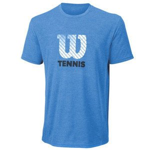 Wilson Tennis Graphic Tech Tee Blue