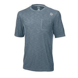 Wilson Textured Crew Blue Mirage