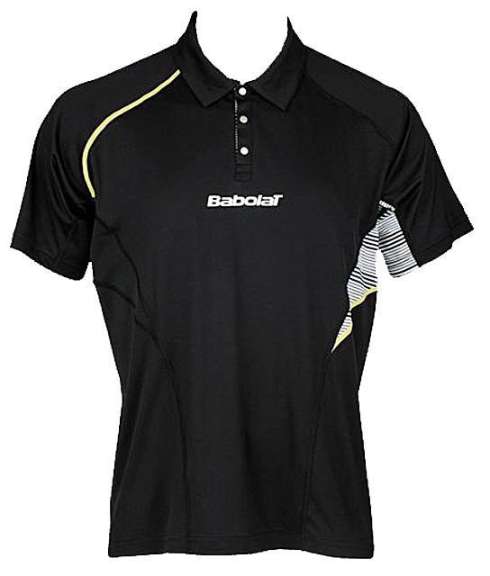 babolat performance polo 2013 schwarz kleidung unisexkleidung shirts kleidung. Black Bedroom Furniture Sets. Home Design Ideas