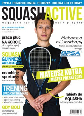 England squash The Ultimate Guide to Weight Training for Racquetball & Squash - Książka do squasha