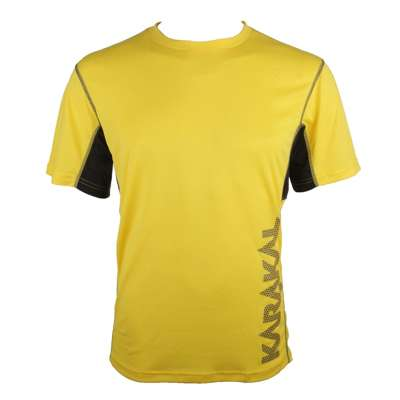 Karakal Pro Tour T-Shirt Yellow/Graphite