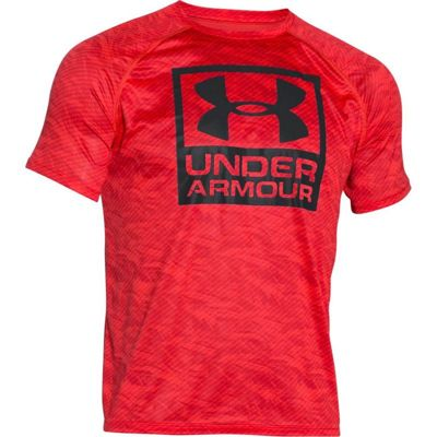 Under Armour Boxed Logo Printed SS 984