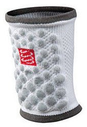 Frotka Compressport Sweat Band 3D Dots White