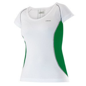Koszulka Head W T-Shirt 814685 White/Green