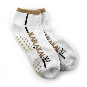 Skarpety Karakal X3 Trainer Technical Socks Bia/Neut