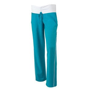 Spodnie HEAD ELENA SWEAT PANT TURKUSOWE