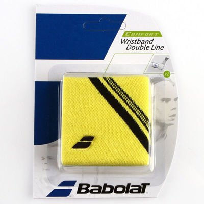 Frotka Babolat Double Line Yellow 2szt.