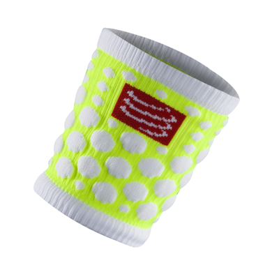 Frotka Compressport Sweat Band Fluo Yellow