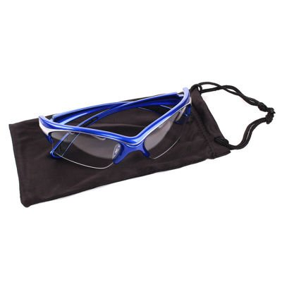 Okulary Black Knight Stiletto Eyeguards Blue/Silver