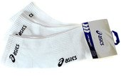 Asics Ped Sock 3PPK 3 pcs. White