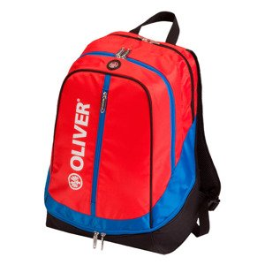 Backpack Oliver Red-Blue