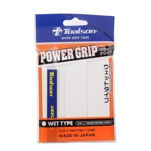 Toalson Power Grip White 3 pcs.
