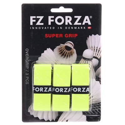 Forza Super Grip Neon Yellow 3 pcs