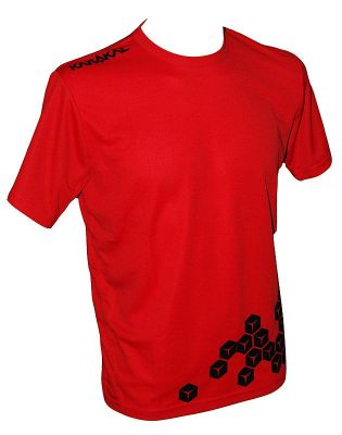 Karakal Pro Cool-Tec T-Shirt  2013 Red