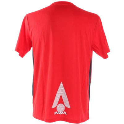 Karakal Pro Technical Red T-Shirt 2016