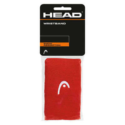 Wristband Head 5' Red 2 pcs