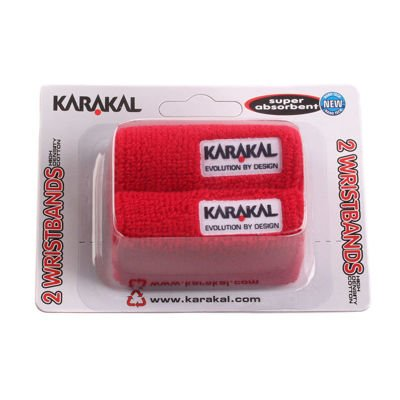 Wristband Karakal Red 2 pcs