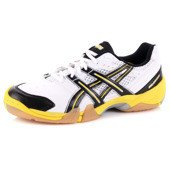 Asics GEL-DOMAIN 0190 White/Black/Yellow