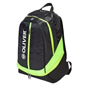 Backpack Oliver Black-Neongreen