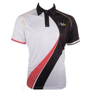 Black Knight Swoosh MF Polo White/Black