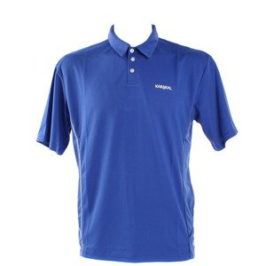 Karakal Leon Button Polo Blue
