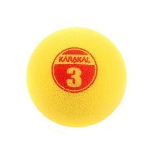 Karakal Mini Yellow 3 Foam Ball