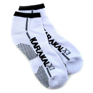 Karakal X3 Trainer Technical Socks White/Black