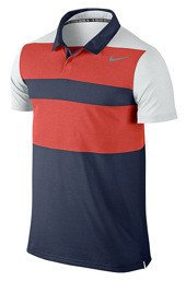 NIKE Dri-Fit Touch Stripe Polo 596566-451
