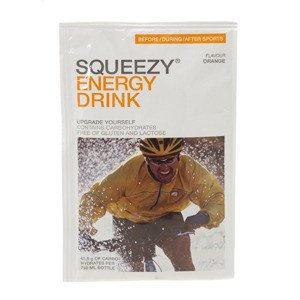Squeezy Energy Drink Orange 50g