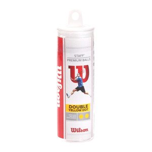 Wilson Staff Double Yellow Dot 3B Tube