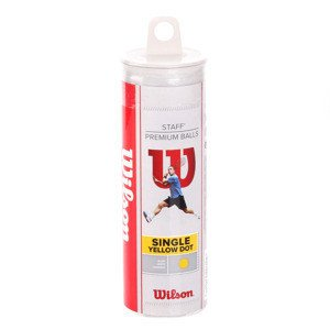 Wilson Staff Yellow Dot 3B Tube