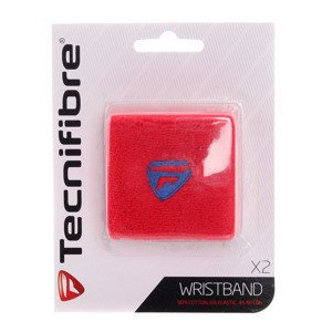Wristband Tecnifibre Red x2