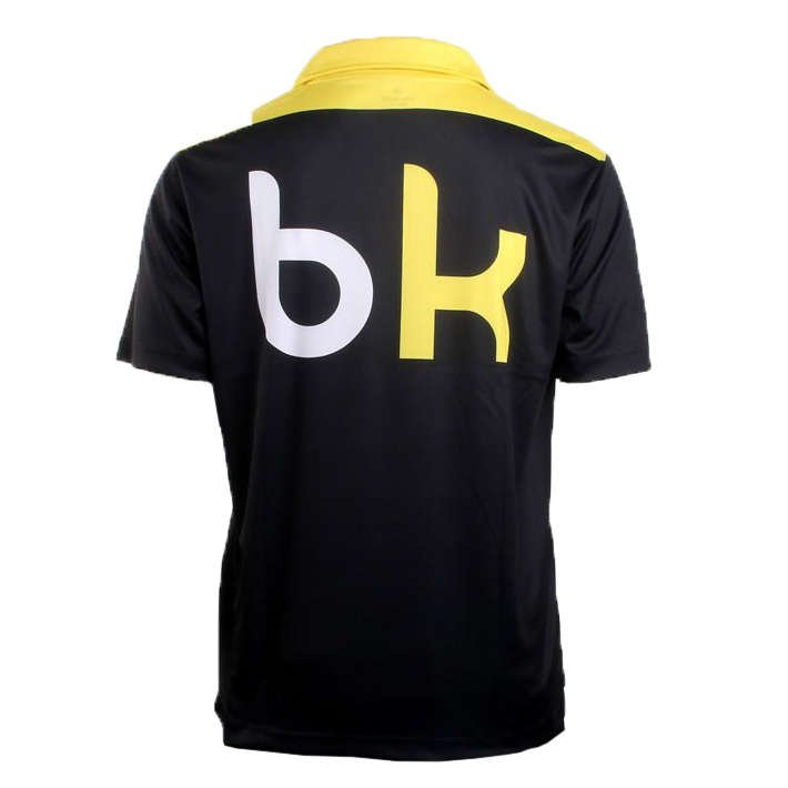 Black Knight Tangent Polo Black/Yellow