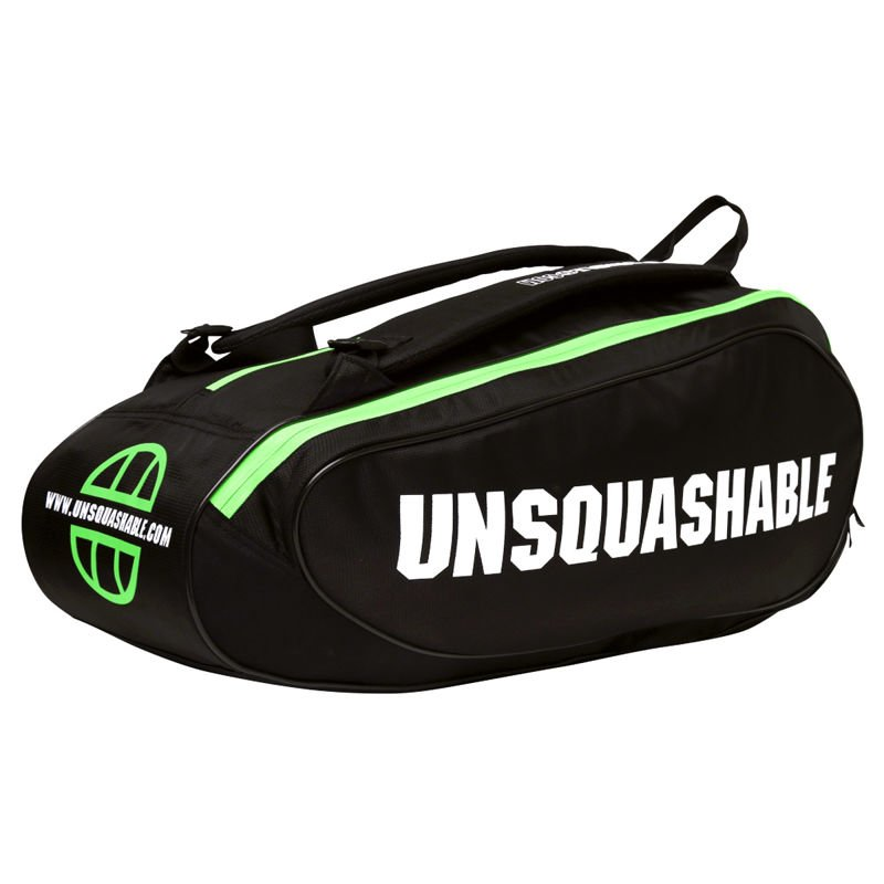Unsquashable Tour-Tec Pro Racket Bag Black/Green